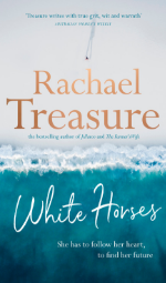 White Horses by Rachael Treasure Book Cover