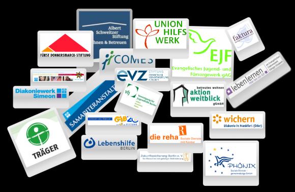 Logos der Förderer des Wettbewerbs