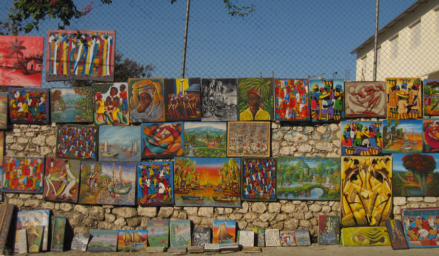 Haiti art