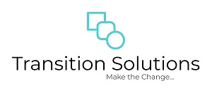 Logo for Transition Solutions. Make the Change