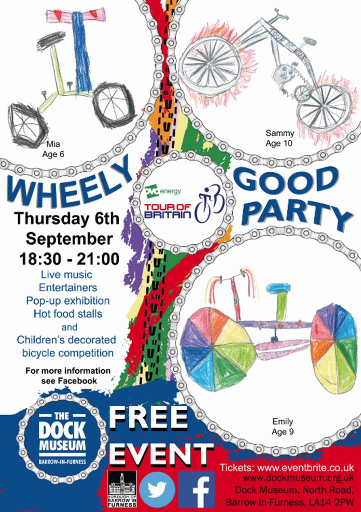 Wheely Good Party Dock Museum 06/09/18