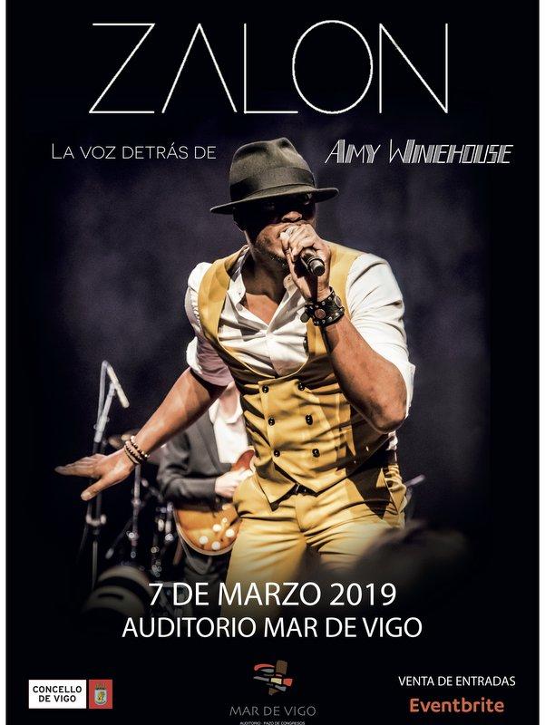 concierto ZALON THOMPSON en Vigo