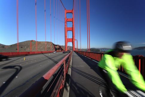 Biking in SF