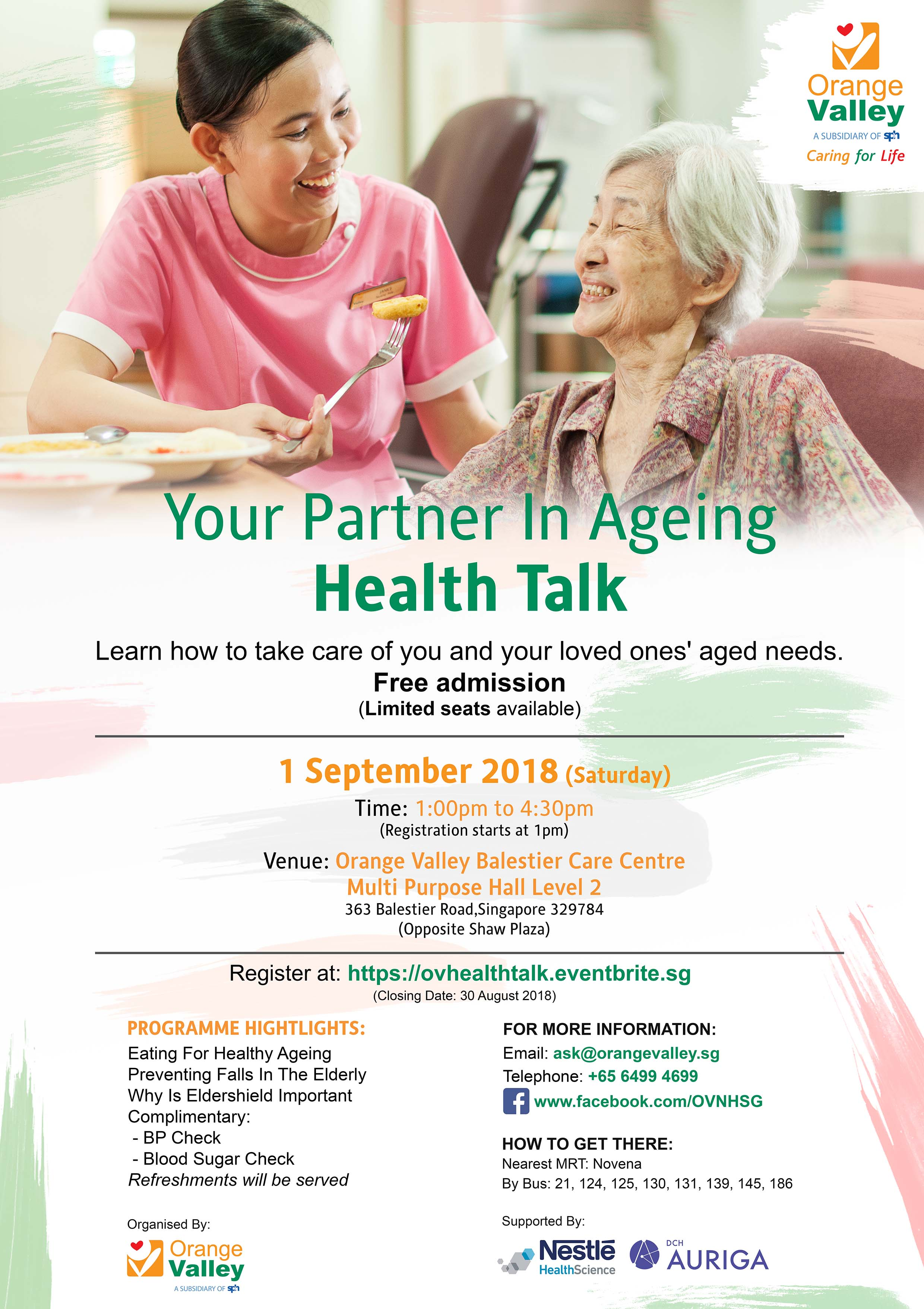 Your Partner In Ageing Health Talk