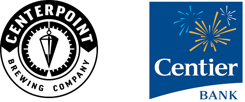 Centerpoint Brewing Company and Centier Bank logo
