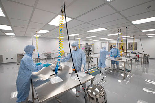 AS9100 / ISO9001 Certified Cleanroom
