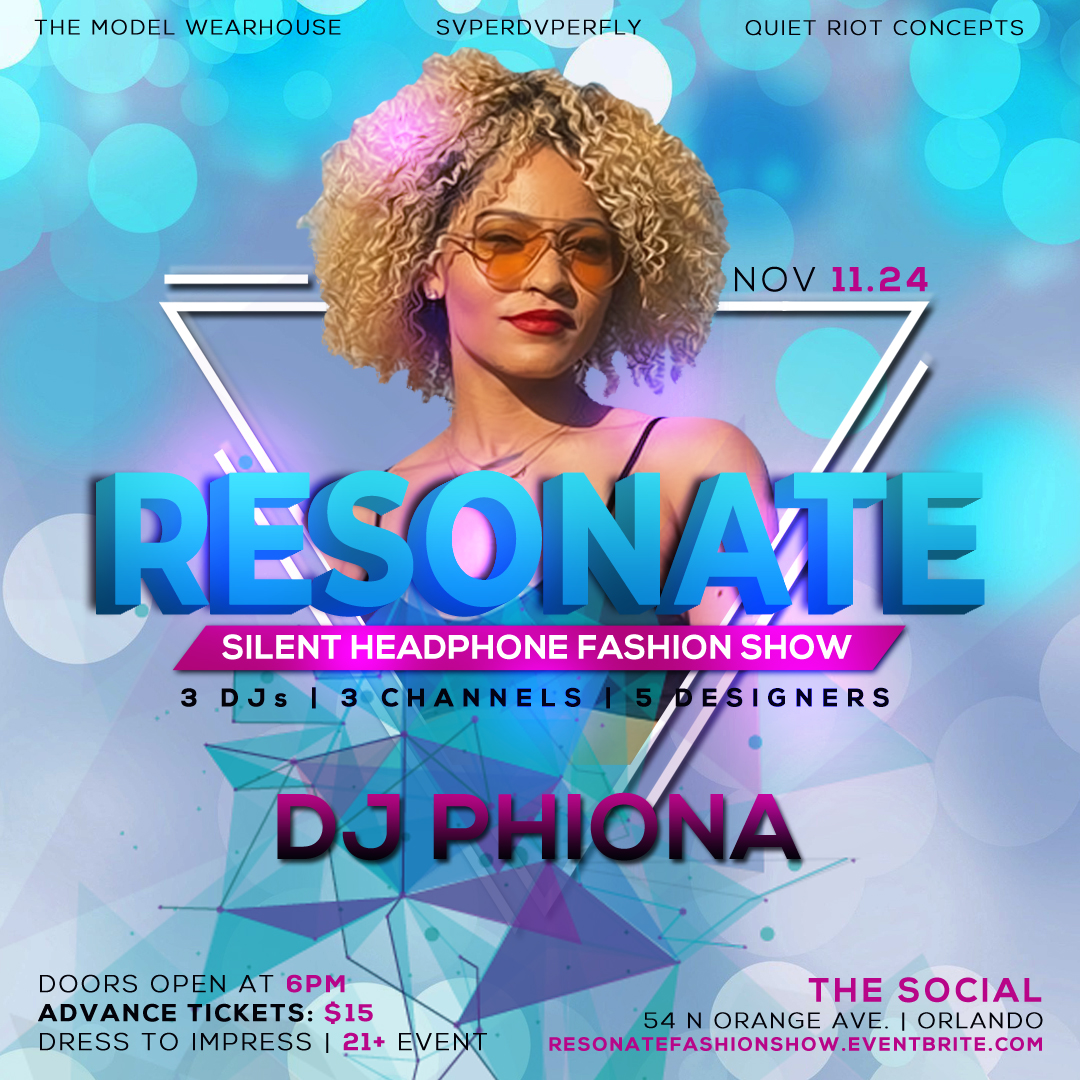 DJ Phiona Fashion Show