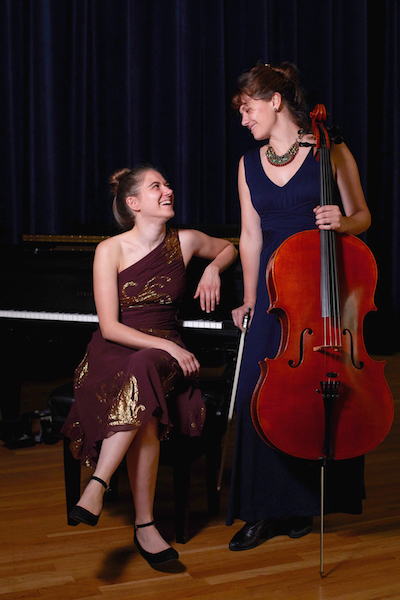 Duo West: Sonja Myklebust, cello and Abbie Gabrielson, piano