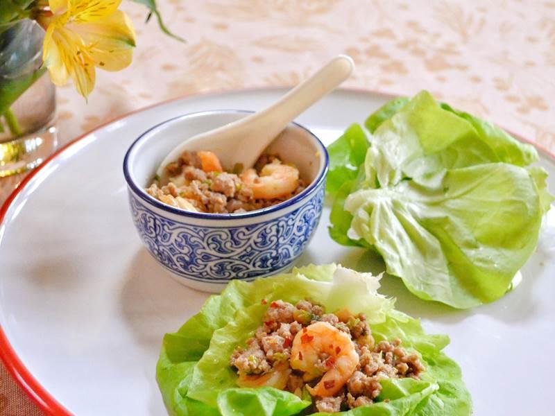 Lettuce Shrimp