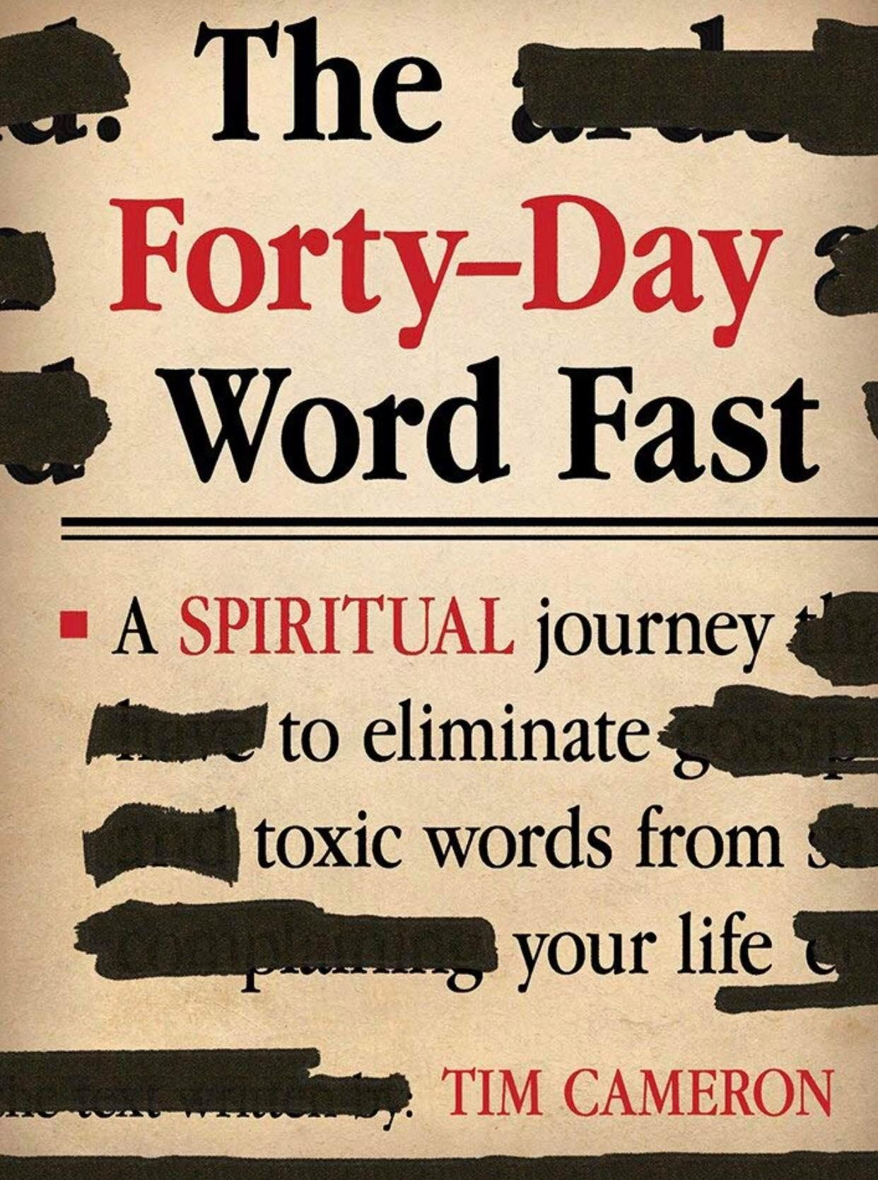 Forty Day Word Fast Book Cover