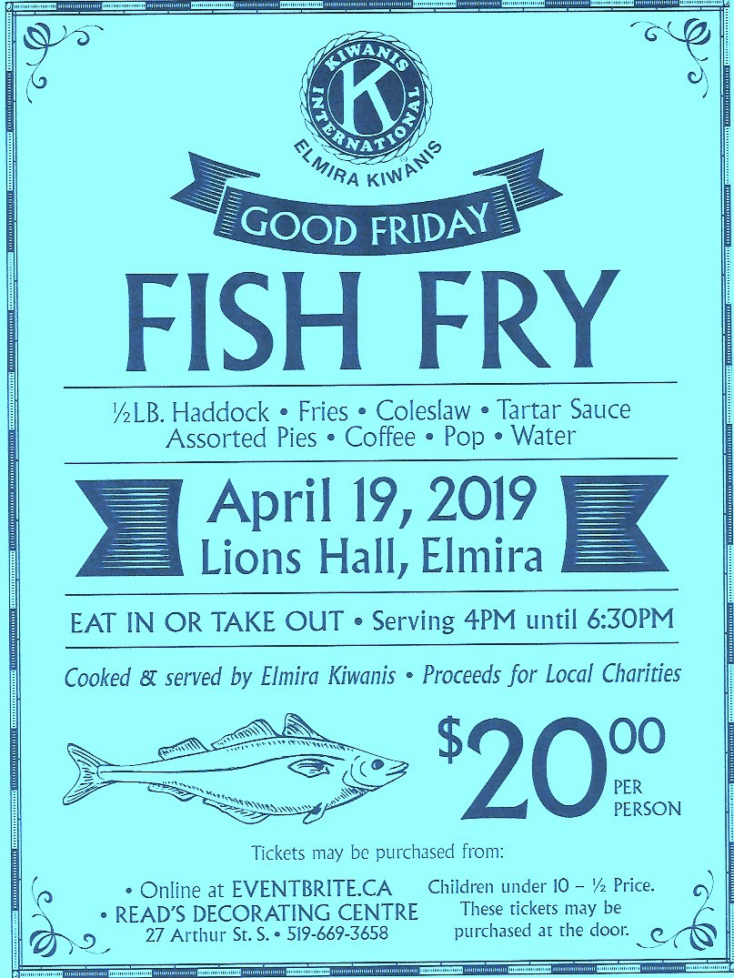 Good Friday Fish Fry Flyer