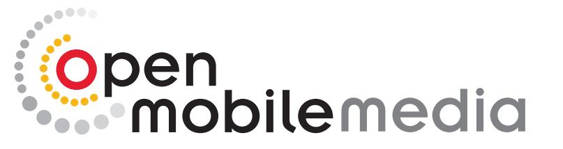Open Mobile Media logo