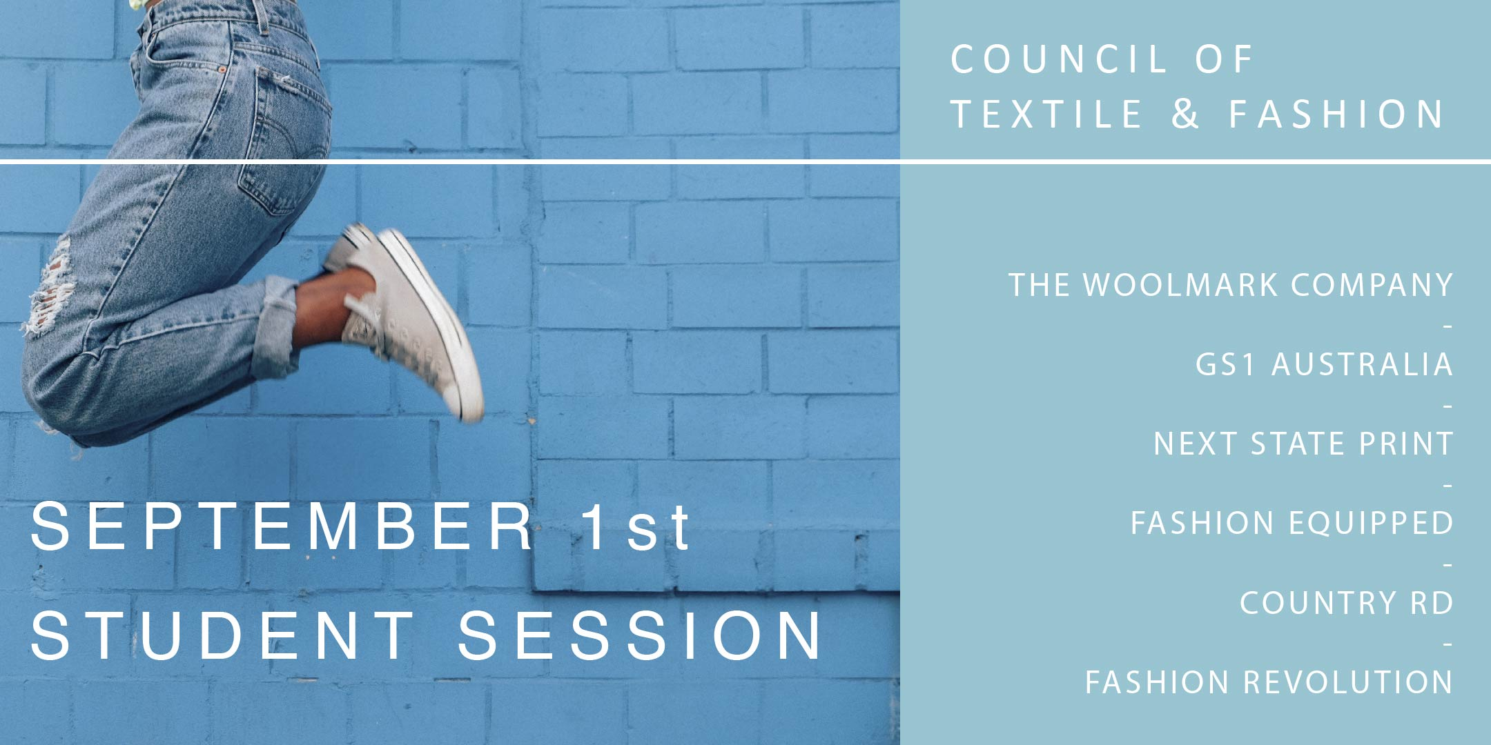 September Student Session | Council of Textile & Fashion