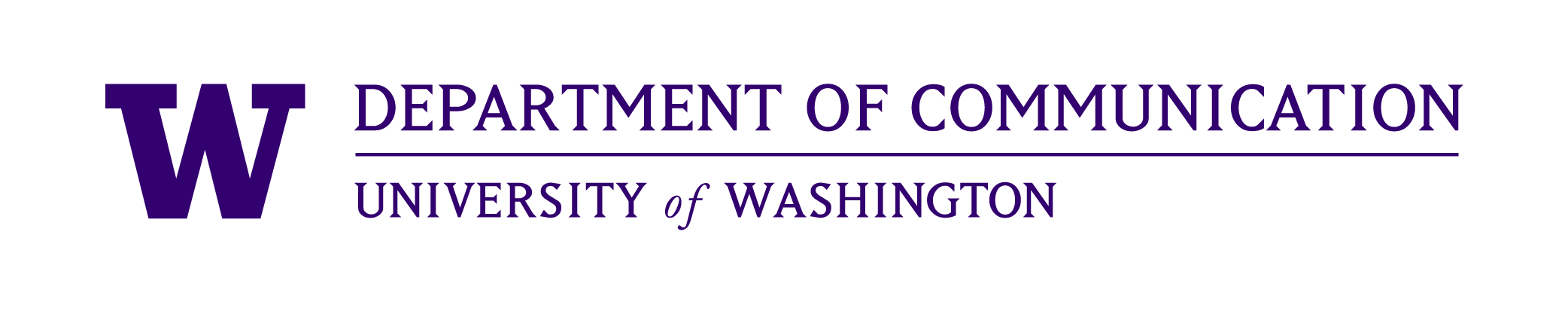 University of Washington Communications Department