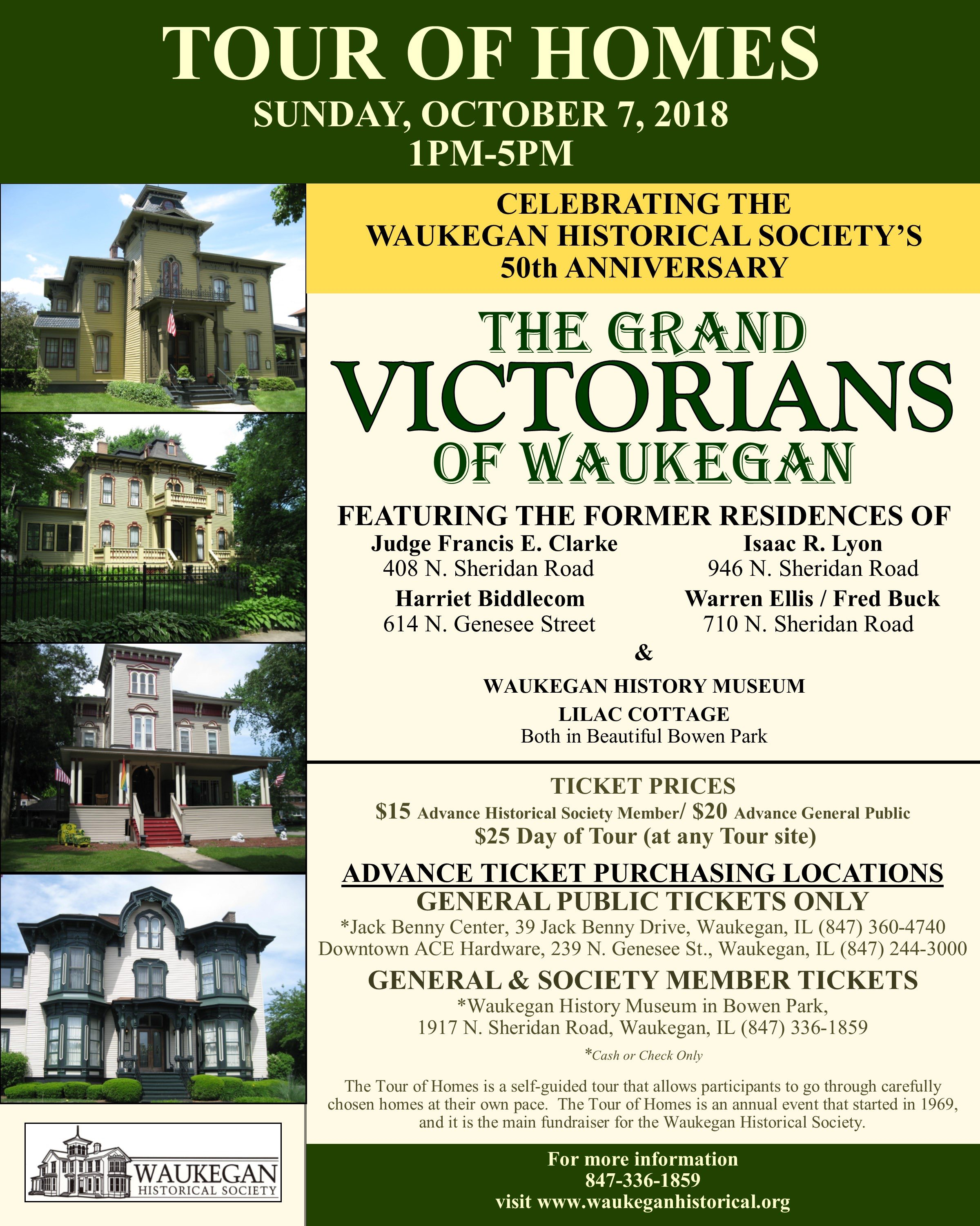 2018 Waukegan Tour of Homes