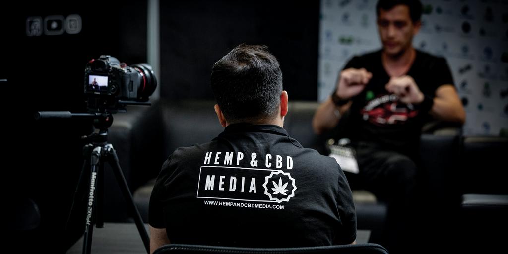 media booth interviews