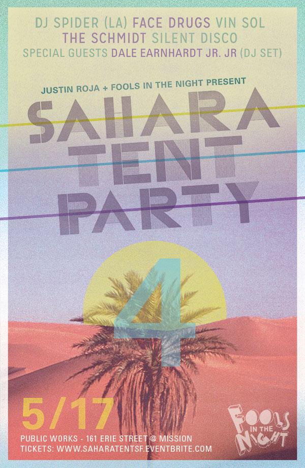 Sahara Tent Flyer