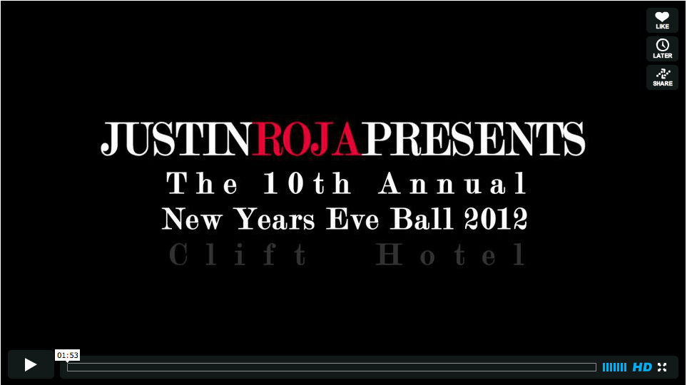 New Years Ball 2012 Video
