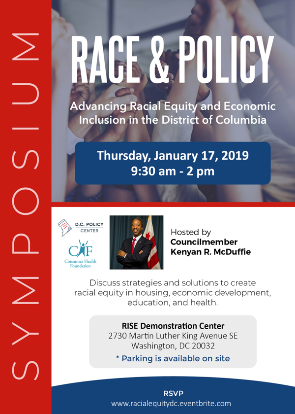 Symposium on Advancing Racial Equity and Economic Inclusion in the District of Columbia