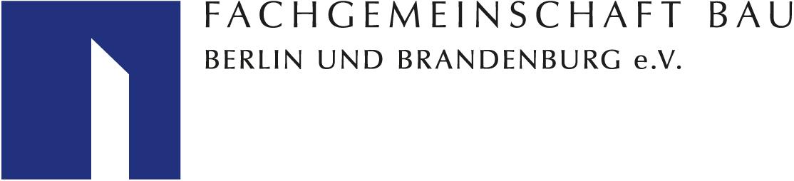 Logo der Fachgemeinschaft Bau Berlin und Brandenburg e.V.