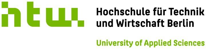 Logo HTW - Hochschule für Technik und Wirtschaft Berlin
