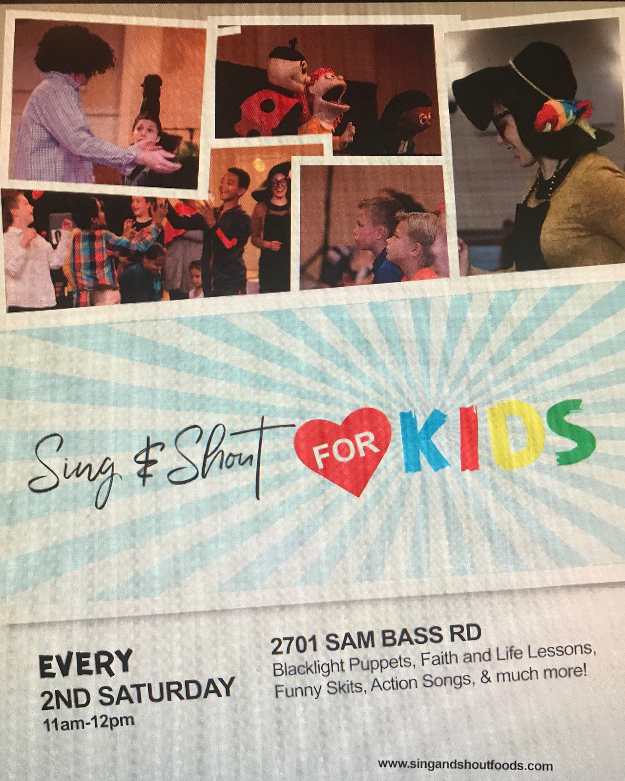 Sing & Shout for Kids
