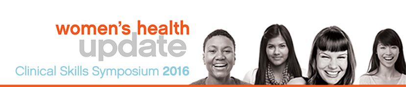 Women's Health Update Clinical Skills Symposium banner