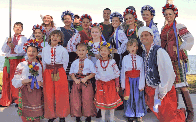 Ukranian Group at SPIFFS Folk Fair
