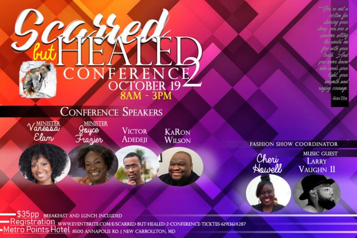 SCARRED BUT HEALED 2 CONFERENCE FLYER
