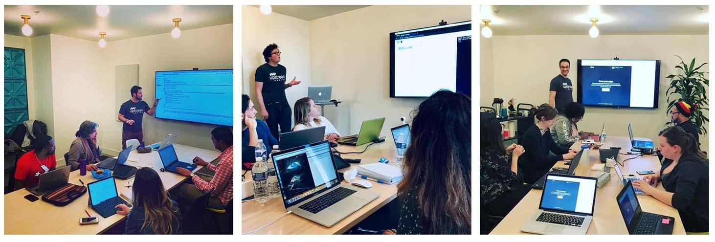 Upstream Coding Classroom