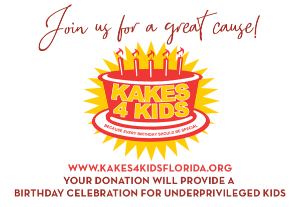 Supporting Kakes4Kids Foundation