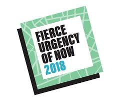 Fierce Urgency of Now Logo
