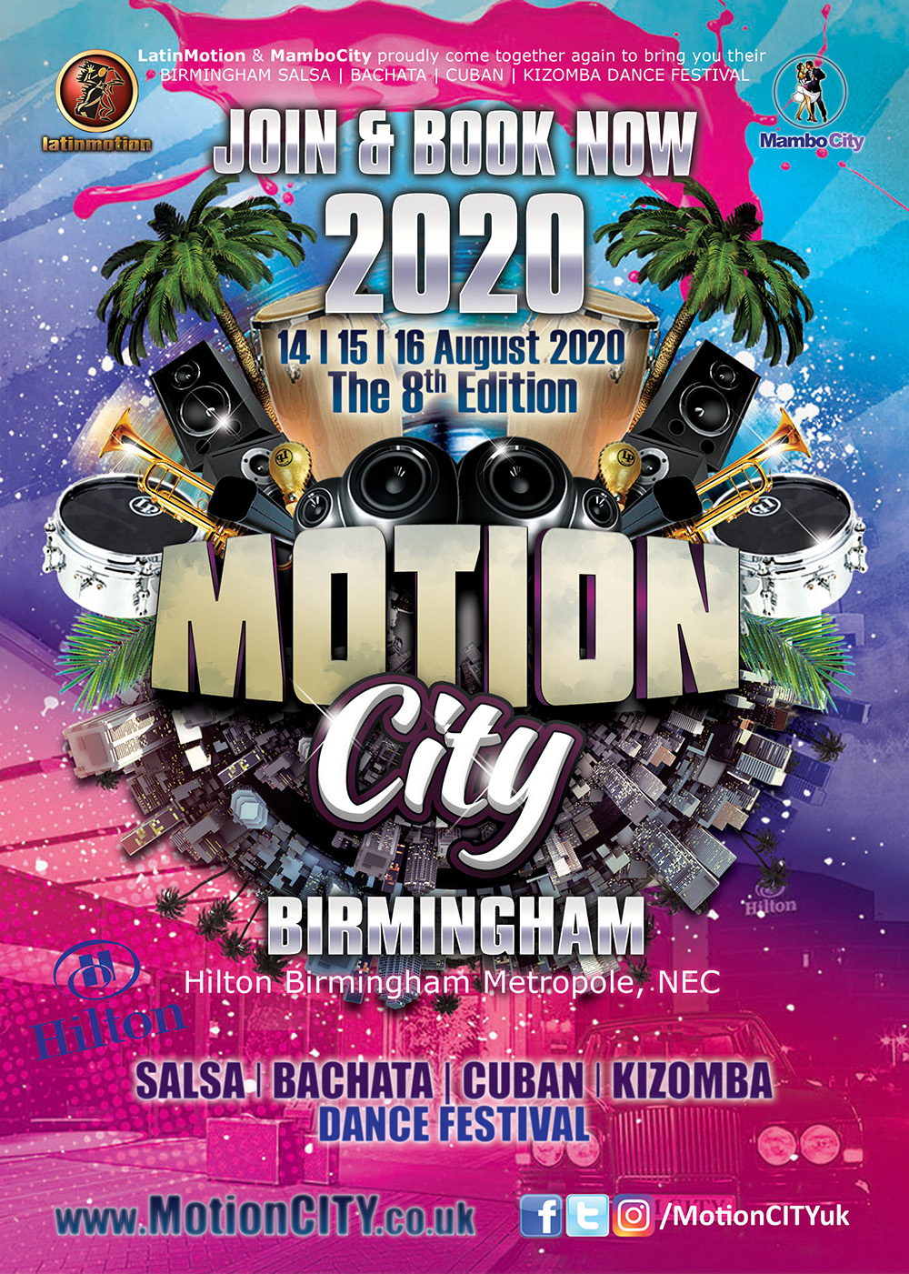 MotionCITY 2020 Join & Book Now