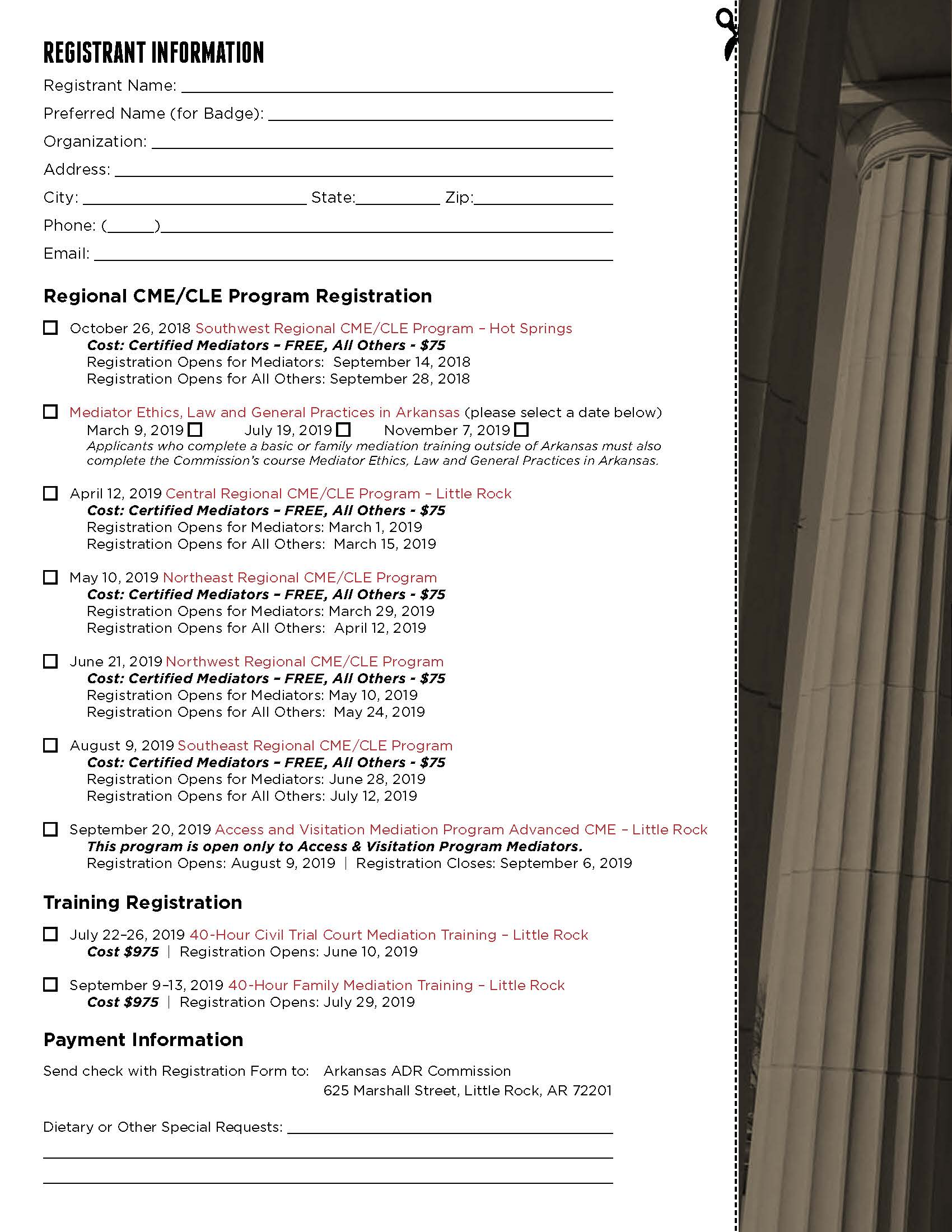 Registration Form
