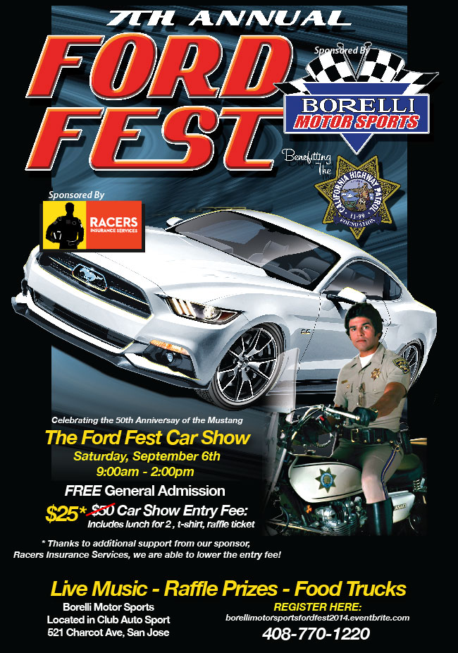 Ford Fest 2014 Invite