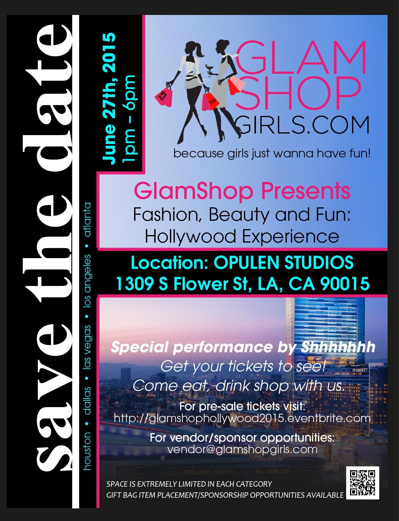 GlamShop HOllywood Event