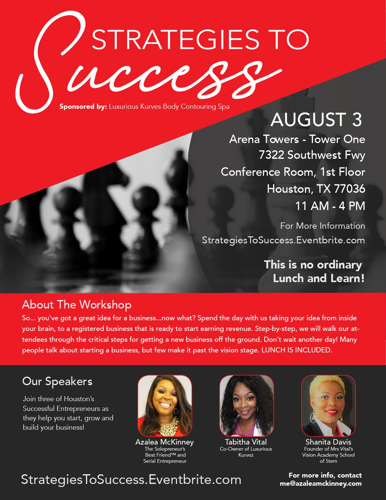 Strategies to Success Business Development Event