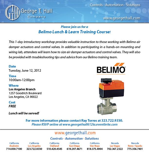 Belimo Lunch & Learn
