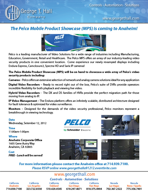 Pelco Mobile Product Showcase