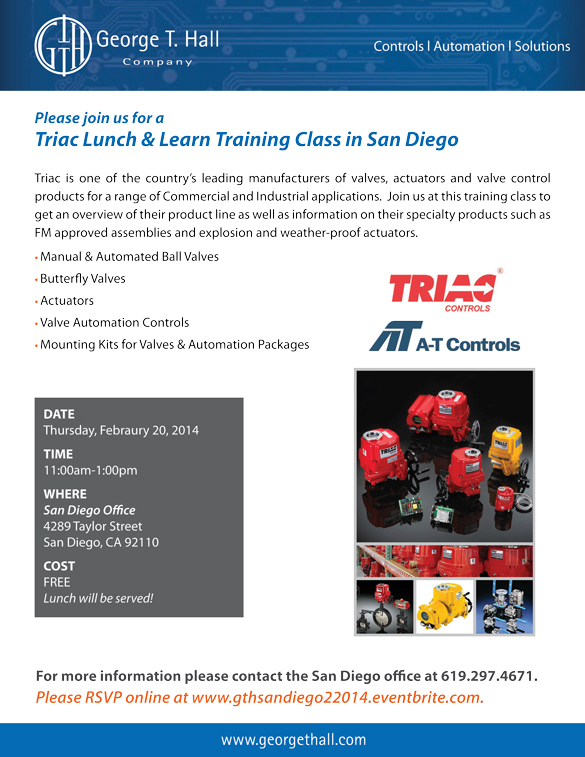 Triac Lunch & Learn