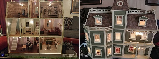 Doll House Front & Back