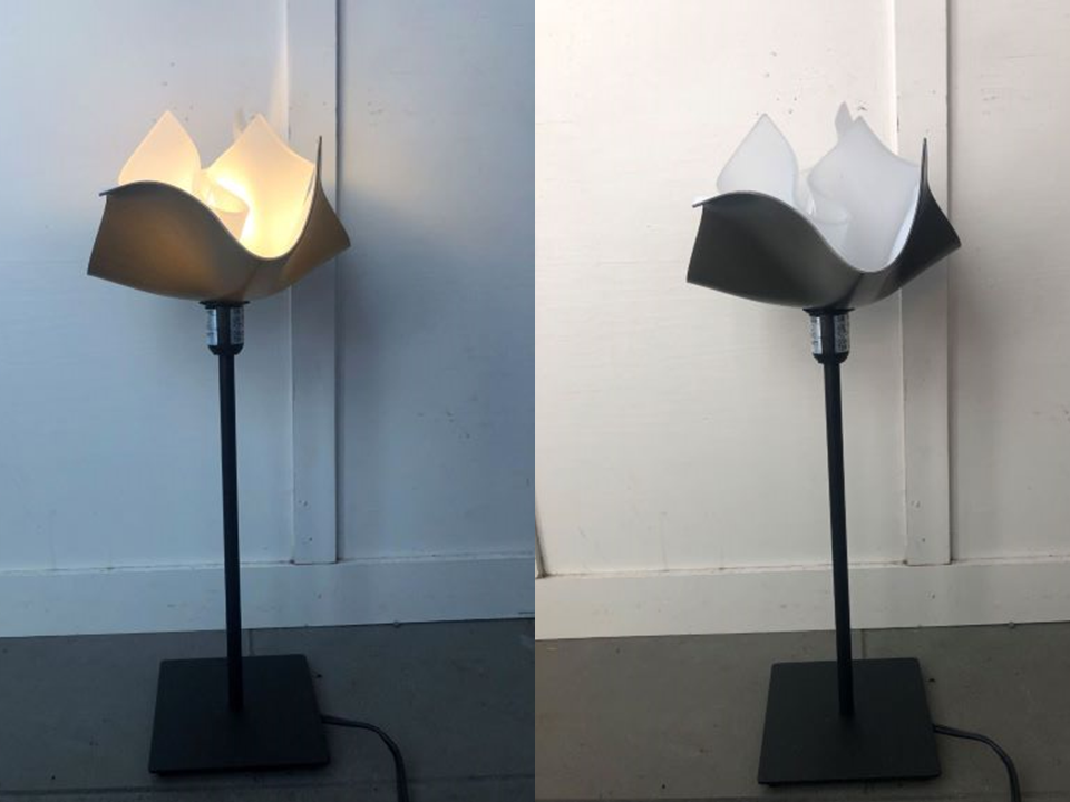An example of the lamp