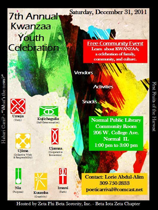 7th Annual Kwanzaa Youth Celebration Tickets 2435970052 on Shutterfly Po Share