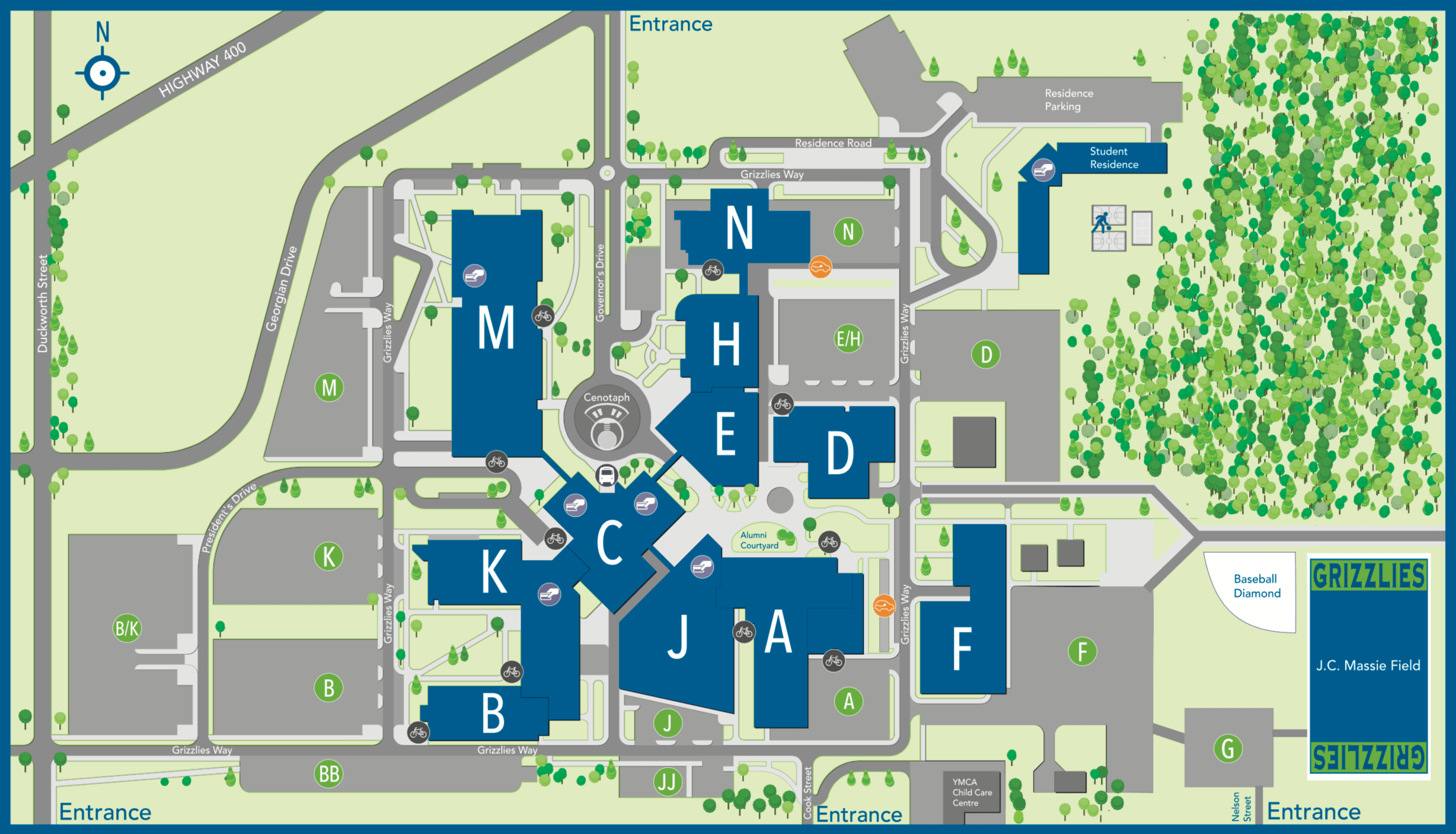 Map of Georgian College