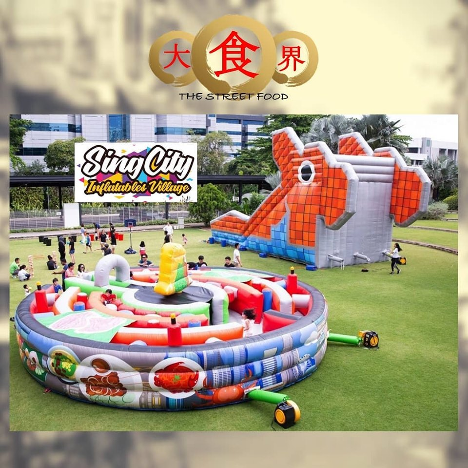 SingCity Inflatable Village