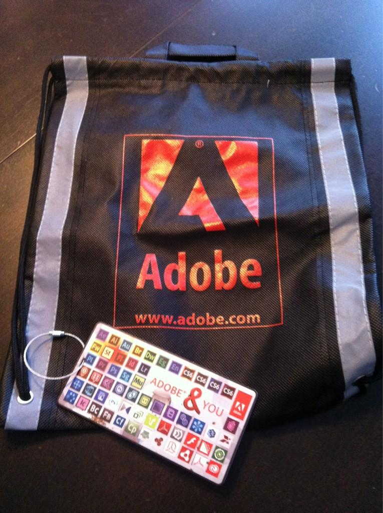 Adobe Bag and Luggage Tag