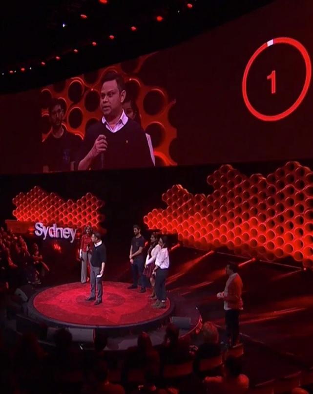 Sayee at TedXSydney2018