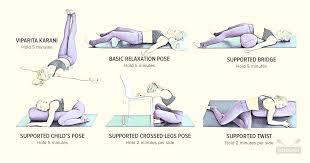 Restorative Yoga Pose Examples