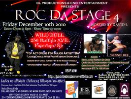 "ROC DA STAGE 4  & ""Ladies"" Choice After Party Co Hosted By..."