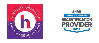 HRCI and SHRM logos